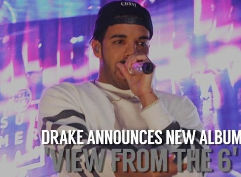 News video: Drake Announces Fourth Studio Album 'Views From The 6'
