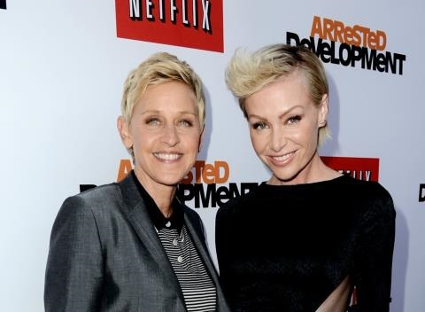 News video: Ellen DeGeneres and Portia De Rossi in Therapy Over Cheating?