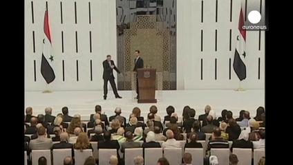 News video: Syria's Assad sworn in for third term