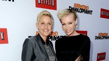 News video: Ellen DeGeneres Cheated on Portia de Rossi?